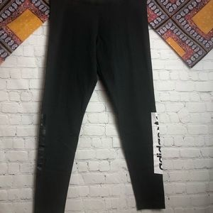 Adidas original black athletic leggings
